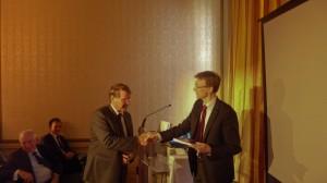 Ira Helsloot en Minister Donner